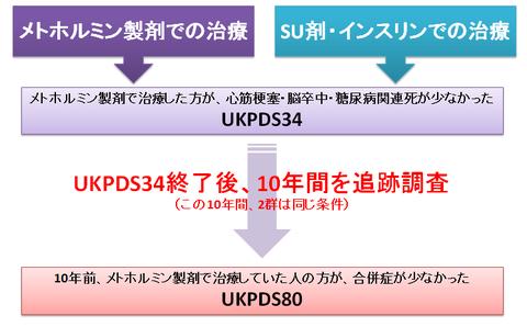 UKPDS80とメトホルミン