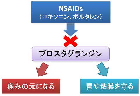 プロスタグランジンとNSAIDs
