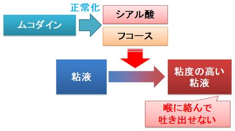 ムコダイン~シアル酸とフコース比の正常化