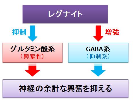 レグナイト~グルタミン酸系とGABA系